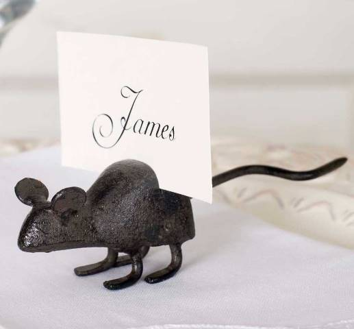 Mouse Card Holder Box of 4