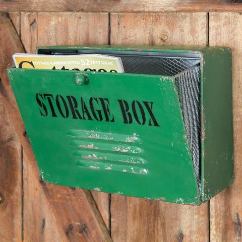 Green Storage Box