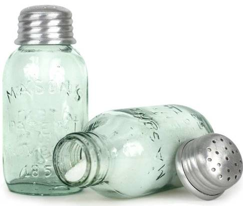 Mini Mason Jar Salt Shakers-Mini Mason Jar Salt Shakers