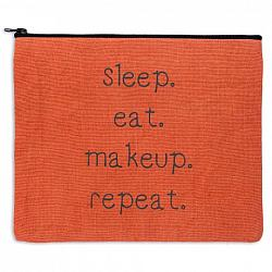 Sleep Eat Makeup Repeat Travel Bag-Sleep Eat Makeup Repeat Travel Bag