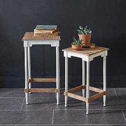 Set of Two Arabella Side Tables-Set of Two Arabella Side Tables