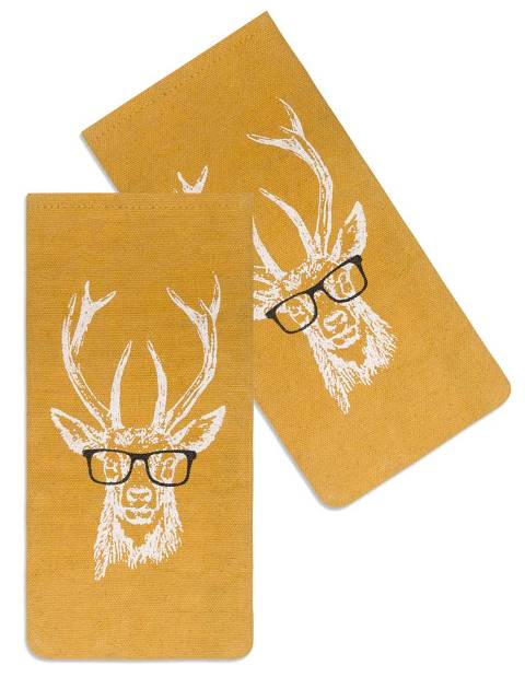Buck with Spectacles Glasses Case-Buck with Spectacles Glasses Case