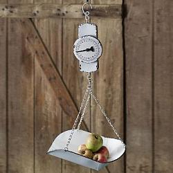 Hanging Decorative Produce Scale-Hanging Decorative Produce Scale