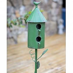 Two Story Morning Glory Birdhouse-Two Story Morning Glory Birdhouse