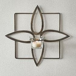 Olivia Tealight Wall Sconce-Olivia Tealight Wall Sconce
