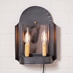Innkeeper's Sconce in Smokey Black-Innkeepers Sconce in Smokey Black